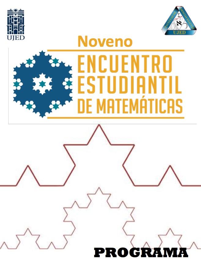 Memorias del Noveno Encuentro Estudiantil de Matemáticas