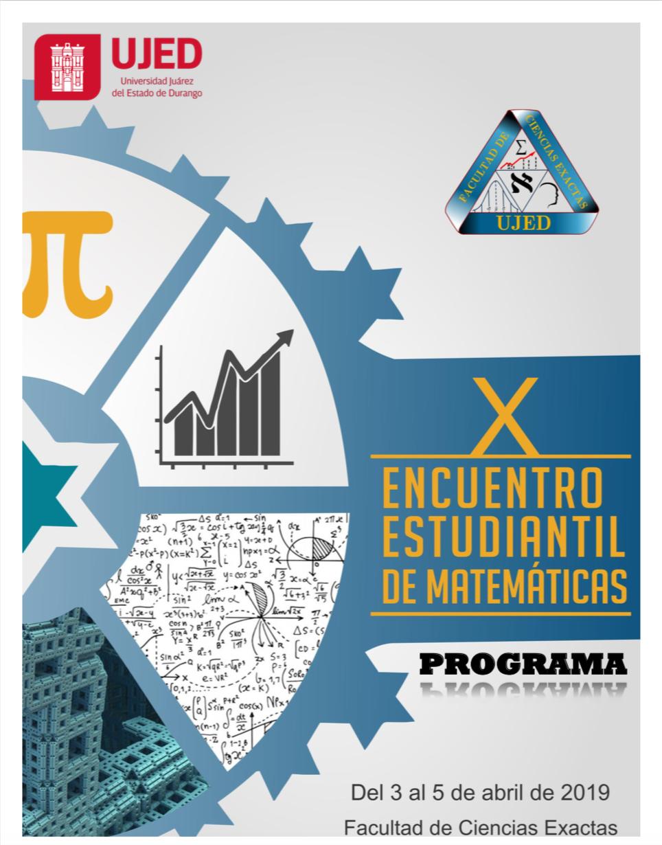 Memorias del Décimo Encuentro Estudiantil de Matemáticas